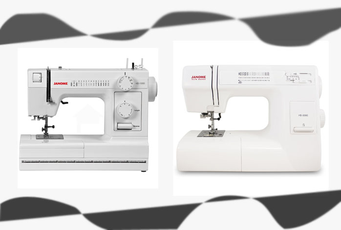 Janome hd1000 vs hd 3000 cuttingr for Janome hd3000
