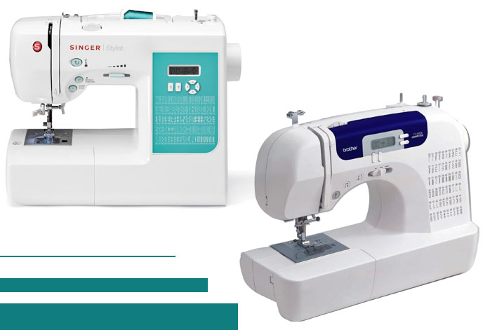 Singer 40 Vs Brother CS40I CuttingR Enchanting Brother Sewing Machine Cs 6000