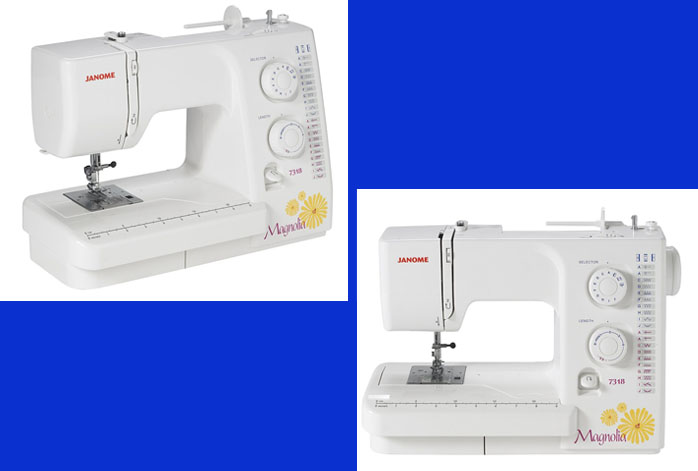 Janome Magnolia 7318 Sewing Machine Review - For Sewing and Quilting