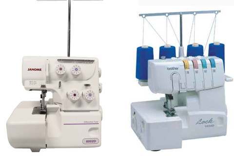 Janome 8002D vs. Brother 1034D