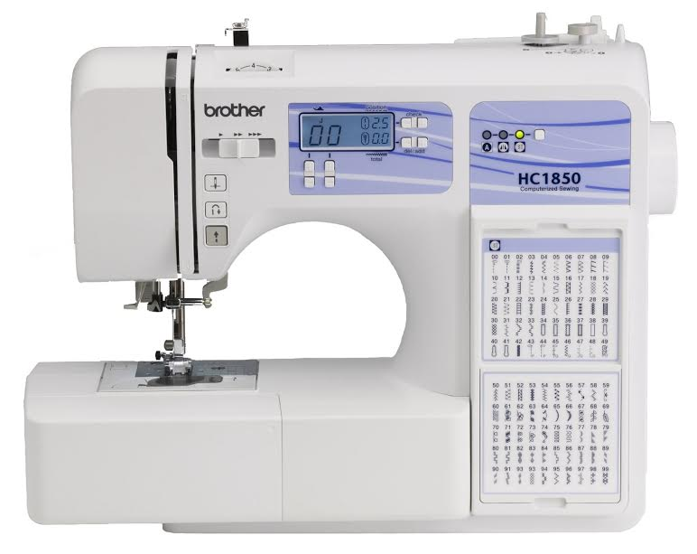 Brother HC1850 Review Affordable Computerized Sewing with Wide Work Area