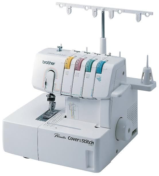 Brother Coverstitch 2340CV Review Chain Stitch Capability