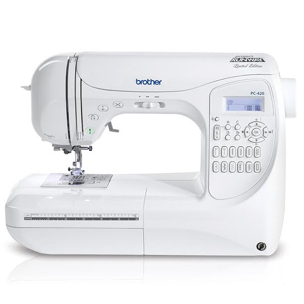 Brother PC-420PRW Review 4-Stitch Professional Grade Computerized Sewing Machine!