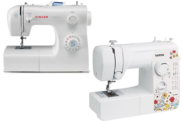 Singer 40 Vs Brother JX 40 CuttingR Adorable How To Thread A Singer 2517 Sewing Machine