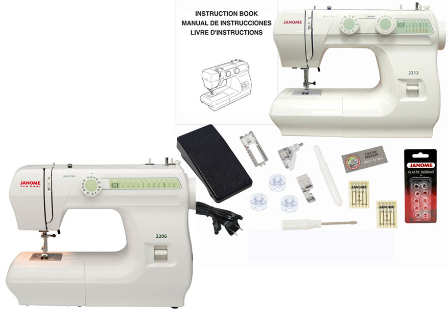 Janome 40 Vs 40 CuttingR Awesome Janome 2206 Sewing Machine Reviews