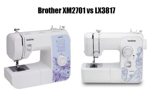 Brother XM2701 vs LX3817