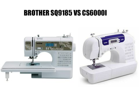 Brother SQ9185 Vs CS6000I