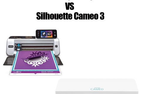 Brother ScanNCut Vs Silhouette Cameo 3