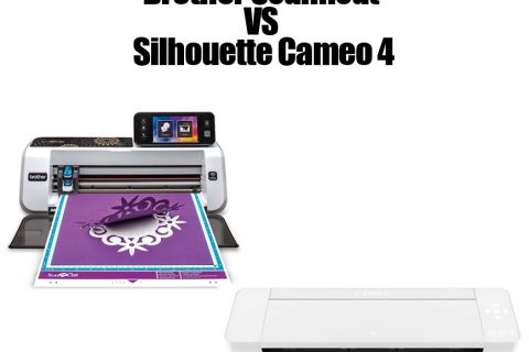 Brother ScanNCut Vs Silhouette Cameo 4