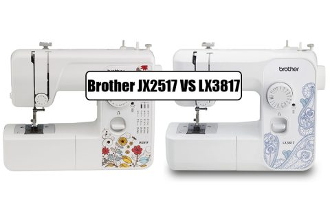 Brother JX2517 VS LX3817
