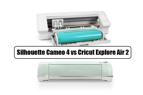 Silhouette Cameo 4 vs Cricut Explore Air 2