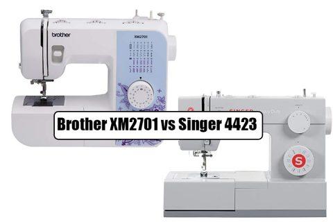 Brother XM2701 Vs Singer 4423